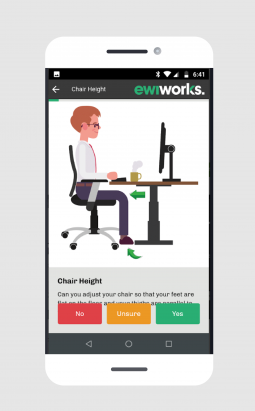 ErgoConnect Remote Ergonomic Assessment App
