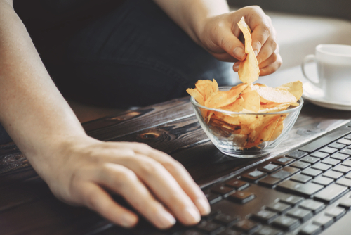 New Canada Food Guide, eating alone junk food