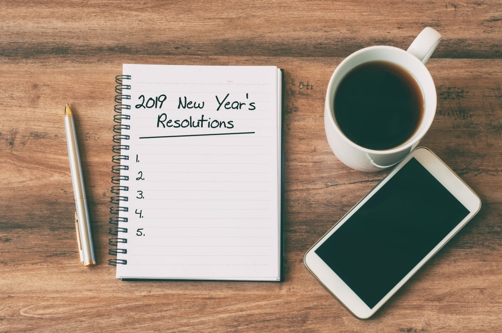 List for Ergonomic New Year's Resolutions